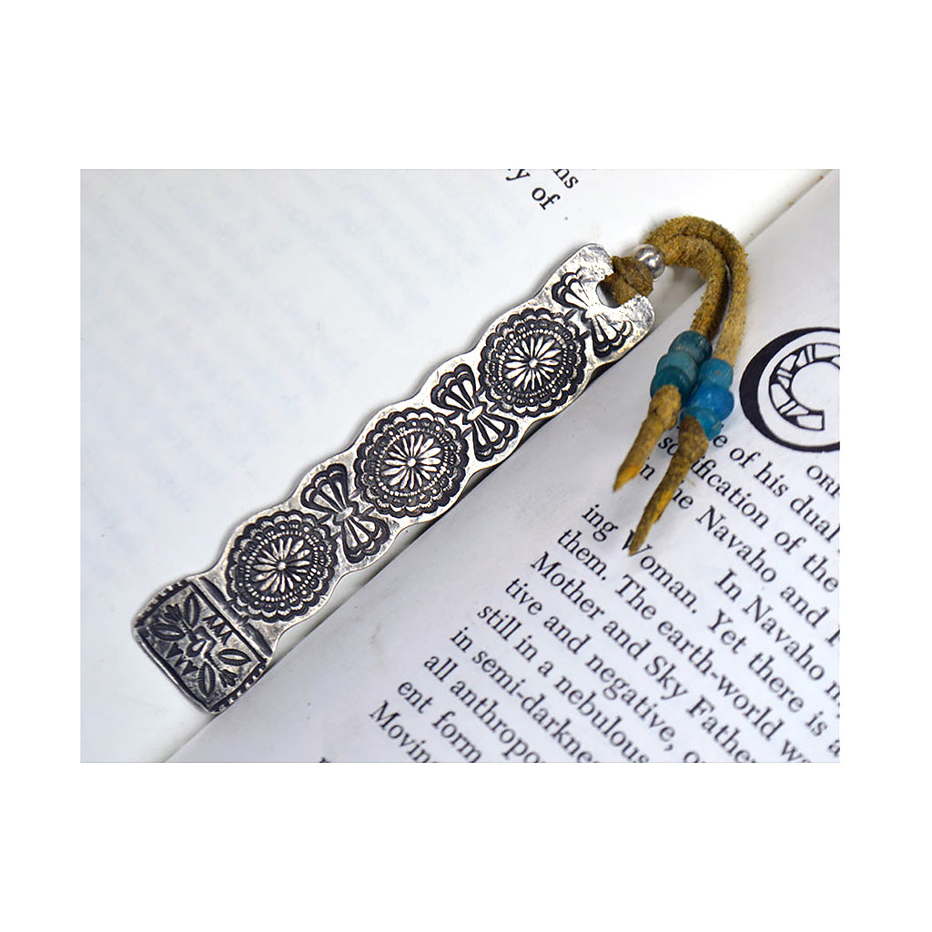 Sterling Silver Concho Belt Bookmark