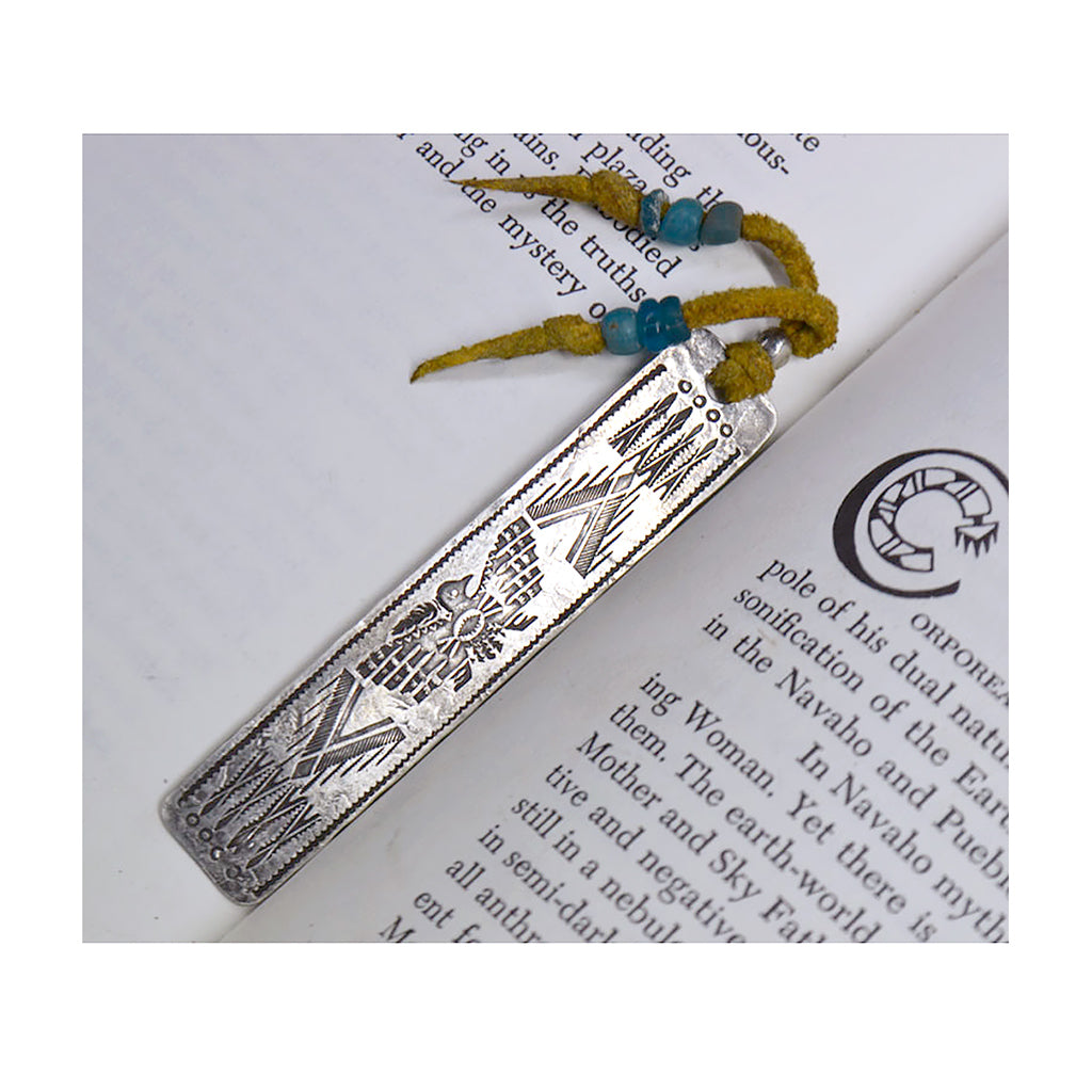 Sterling Silver Thunderbird 2 Bookmark