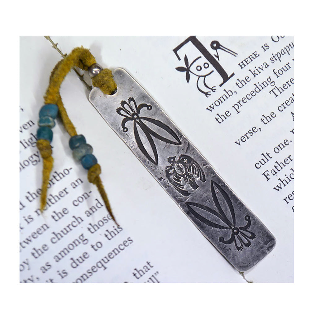 Sterling Silver Thunderbird 3 Bookmark