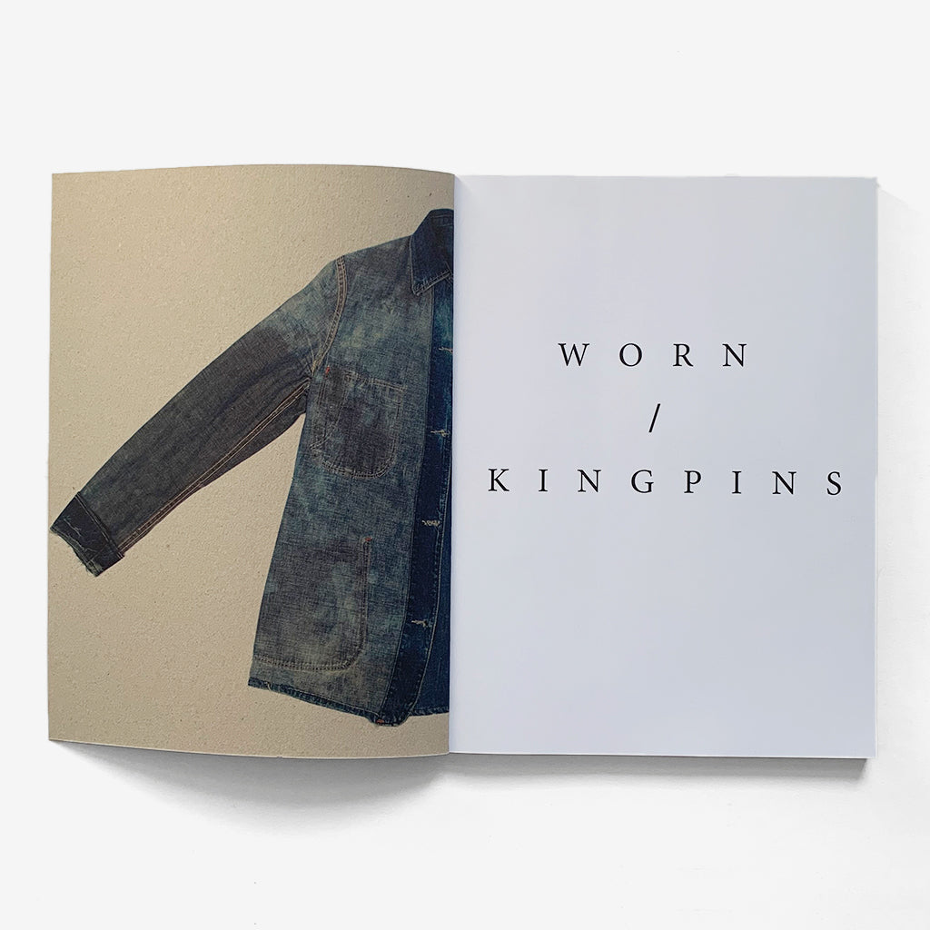 Inside pages for The Vintage Showroom & Kingpins - Worn Book Vol 1