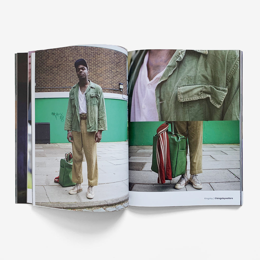 Inside pages of The Vintage Showroom - Worn Book Vol 2