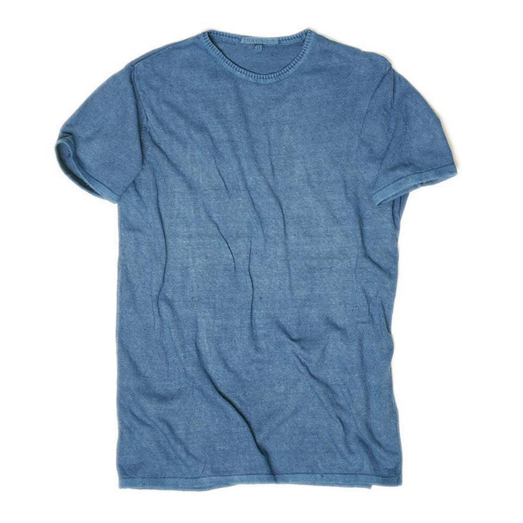 Indigo Hand Spun Men's T-shirt