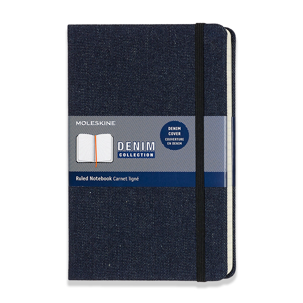Moleskine Denim Limited Edition Notebook - Prussian Blue