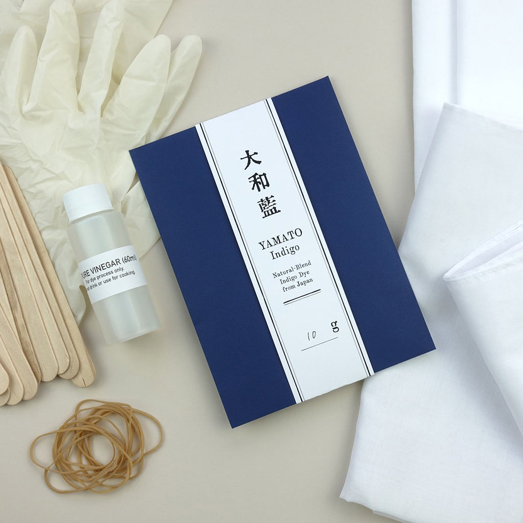 Contents of the Yamato Indigo Do It Yourself DIY Starter Kit