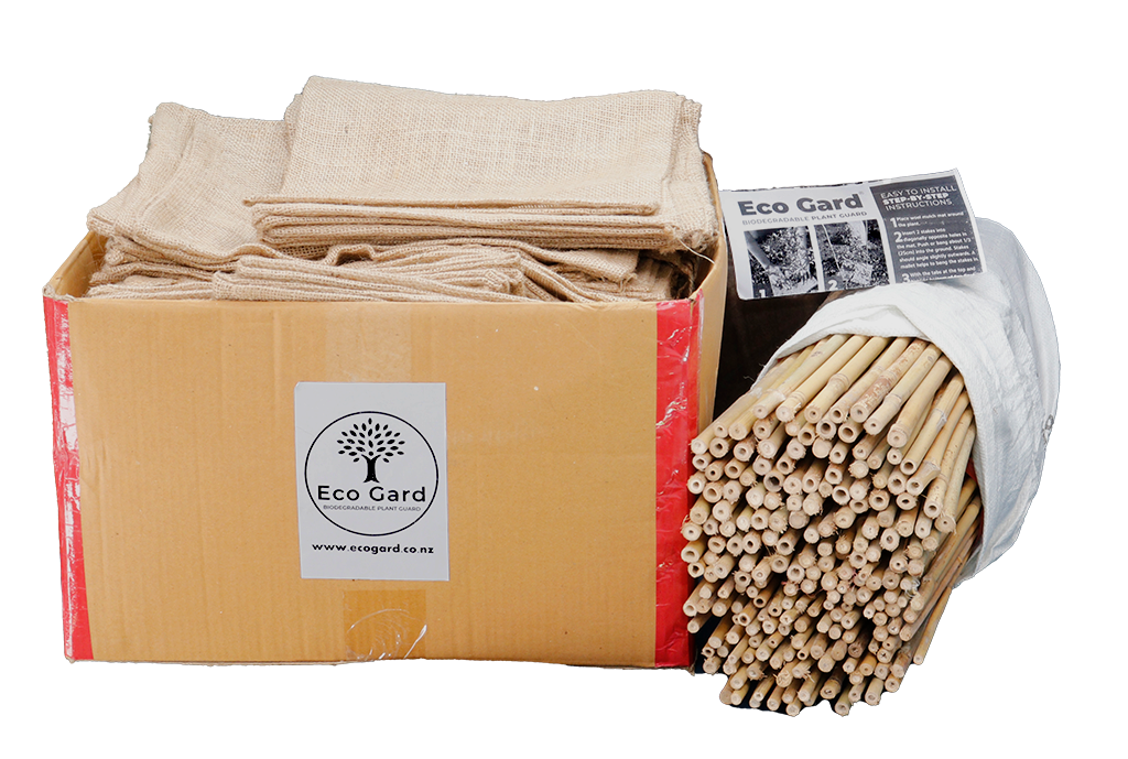 Box of 100 Eco Gards with stakes only