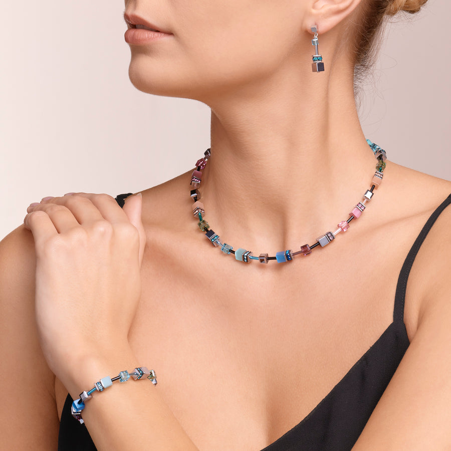 Collana GeoCUBE® multicolor fresh vintage