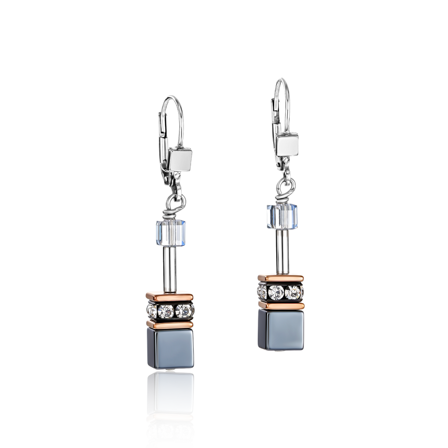 GeoCUBE® Earrings ice blue
