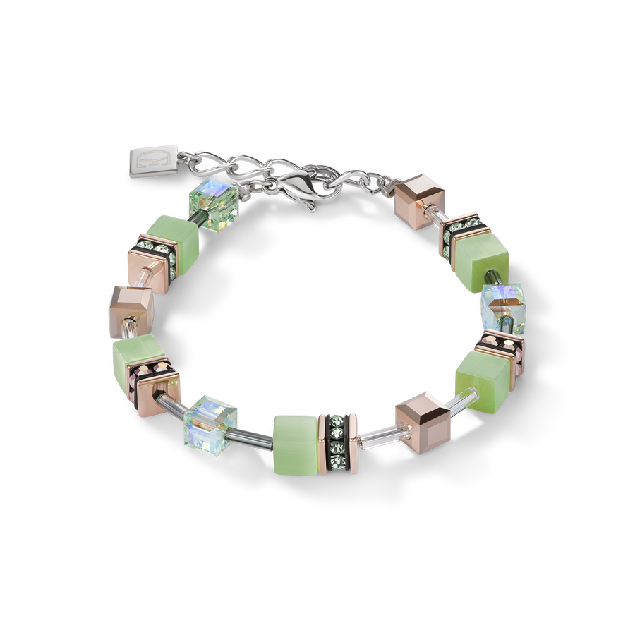 GeoCUBE® Bracelet light green