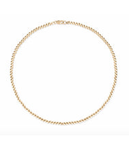 Load image into Gallery viewer, 3MM Gold Ball Necklace