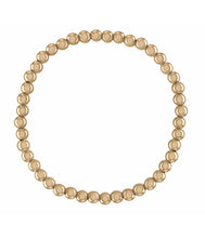 Load image into Gallery viewer, 4MM Gold Ball Bracelet