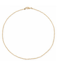Load image into Gallery viewer, 2MM Gold Ball Necklace