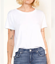 Load image into Gallery viewer, Twist Tee In White