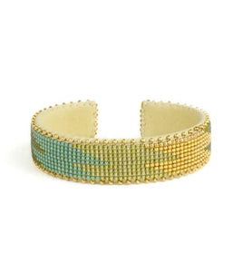 Small Lacy Glass Cuff