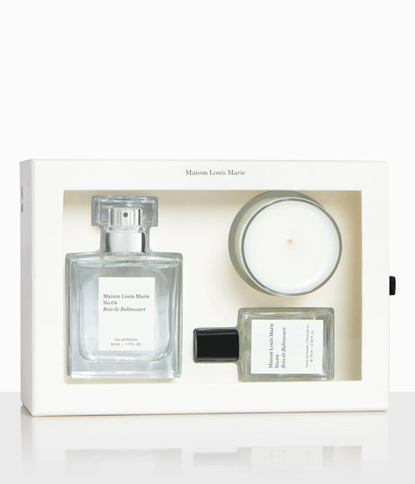 NO.04 Bois De Balincourt-Luxury Gift Set