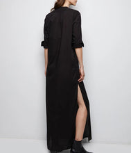 Load image into Gallery viewer, Sandra Galabeya Dress - Black