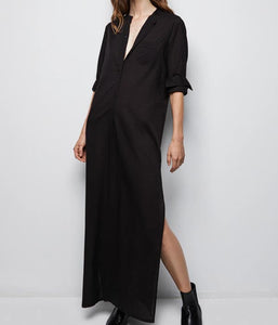 Sandra Galabeya Dress - Black