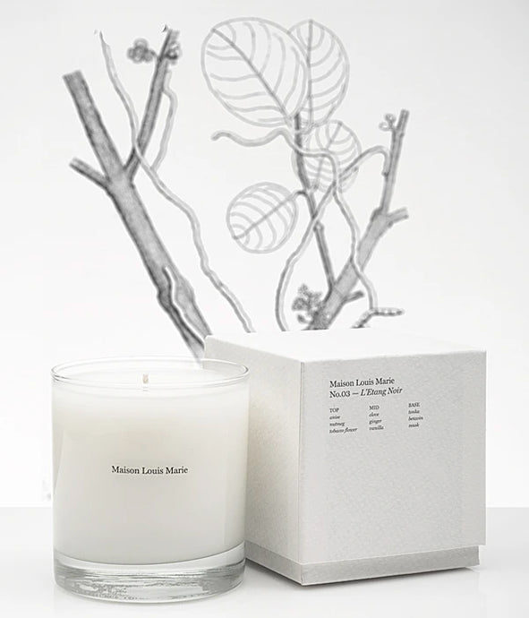 No. 3 L'Etang Noir Candle