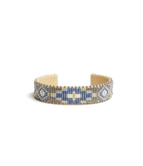 Paloma Glass Cuff Small