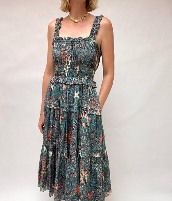 Annisa Dress - Malachite