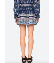 Load image into Gallery viewer, Brigitte Border Skirt - Navy