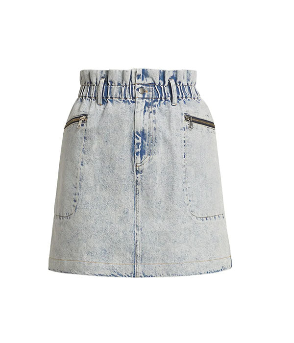 Dax Denim Skirt - Blue