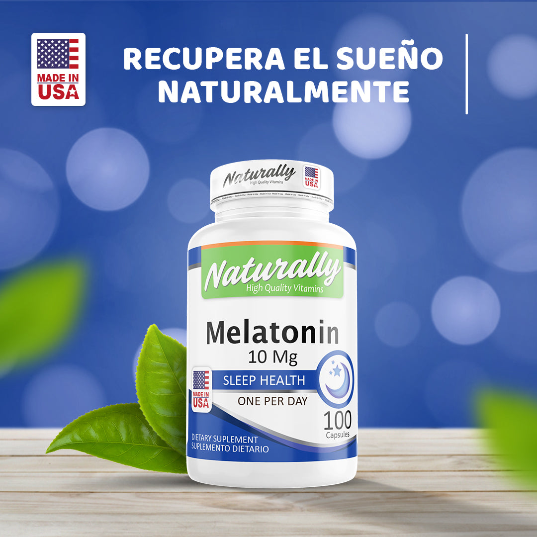 PROMOCIÓN | MELATONINA + XTRESS OUT | CAPSULAS | AMERICANA