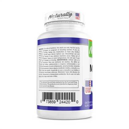 MELATONINA | 5 MG | CAPSULAS | AMERICANA | NATURALLY