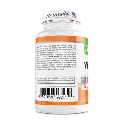 VITAMINA D3 | 10.000 IU | 100 SOFTGELS | AMERICANA | NATURALLY