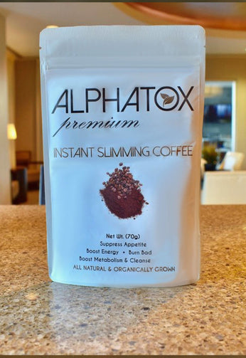 Alphatox SIimming Coffee (15 Day) - YummyGummys - Instant Slimming Coffee - Alphatox Premium Fitness Teas -