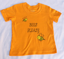 Load image into Gallery viewer, Bees please || Kids T-shirt