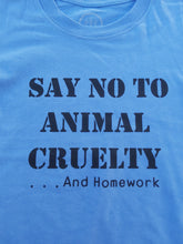Load image into Gallery viewer, Say No to Animal Cruelty || Kids T-shirt