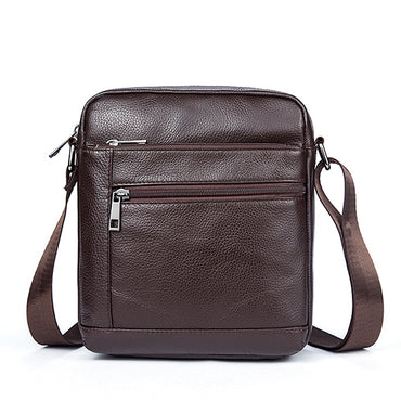 Shoulder Bag Genuine Leather Bag Male Small Crossbody Bags