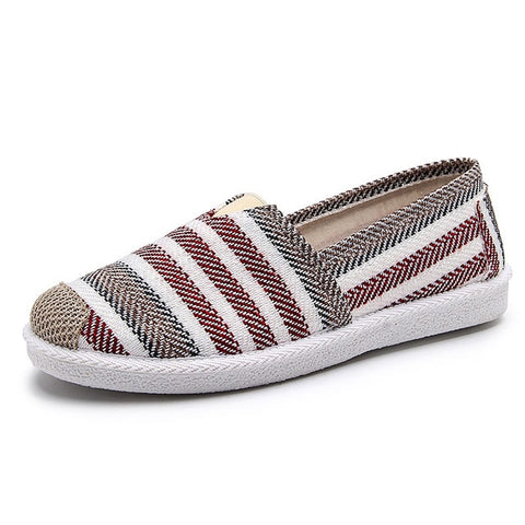 Loafers Shoes Espadrille Graffiti Comfort Flat Platform Creepers Shoes