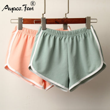 Sports Shorts New Candy Color Anti Emptied Skinny Shorts