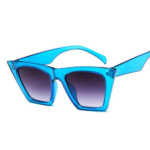 Fashion Square Sunglasses Designer Luxury Cat Eye Sun Glasses