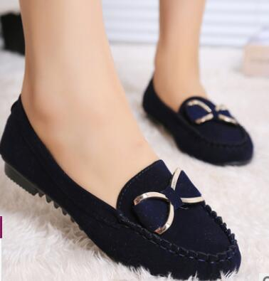 Slip On For Loafers Moccasin Zapatos Mujer Ballet Flats Shoes