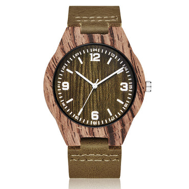 Animal Deer Imitation Wood Watch