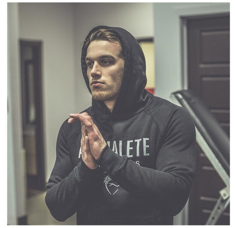 Gyms Hoodies Bodybuilding Sweatshirt  Pullover Sportswear Workout Hooded Jacket Clothing