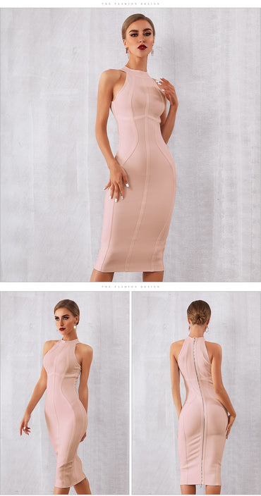 New Summer White Women Bandage Sexy Party Dress