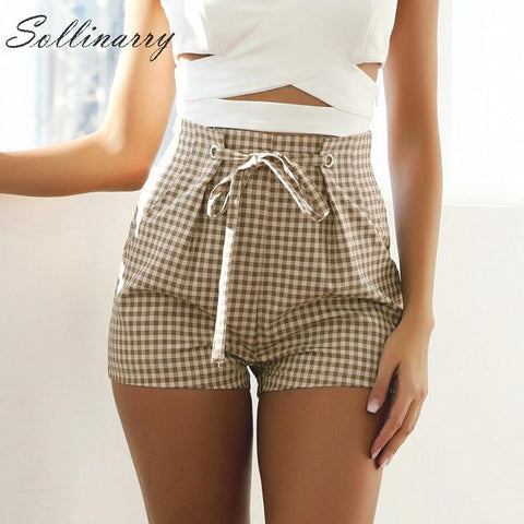 New Bohemian Casual Fashion High Waist Holiday Shorts