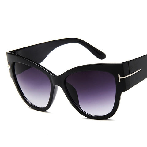 New Portable Fashion Cat Eye Sunglasses Female