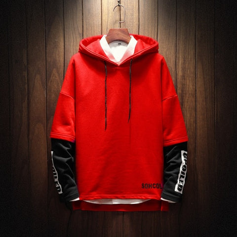 Hoodie Sweatshirt Hip Hop Punk Pullover Streetwear Casual Fashion Clothes