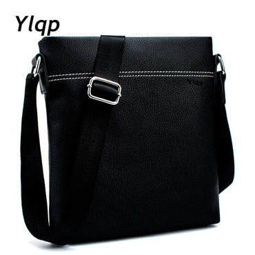 Famous Brand Leather Shoulder Bag Casual Business Satchel