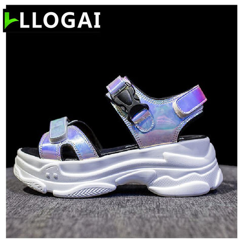 New Sexy Open-toed Sport Hollow Out Outdoor Cool Platform Sandals
