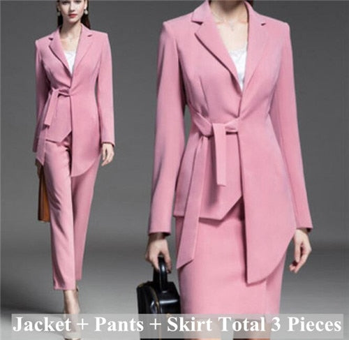 Elegant Fashion Office Business Wear Formal Work Jacket Blazer Dresses