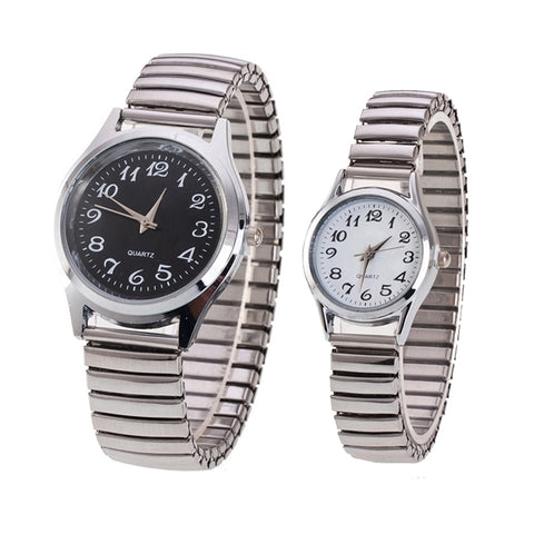 Band Alloy Lovers Business Quartz Movement  Wristwatch