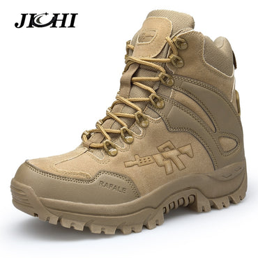 Military boot Combat Chukka Ankle Boot Tactical Big Size Army Boot