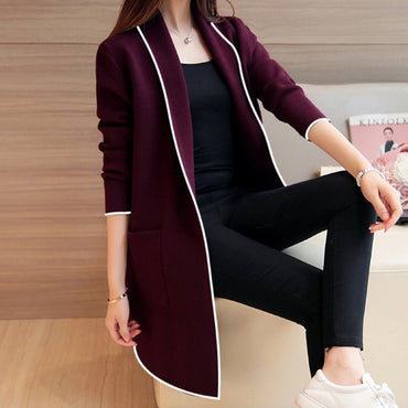 Fashion Casual Long Sleeve Cardigan Coat Jacket
