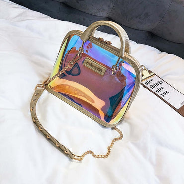 Transparent  Bag Clear Shoulder Bag luxury handbags
