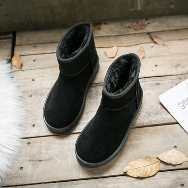 Ankle Platform Female Girl Fur Furry Snow Boots